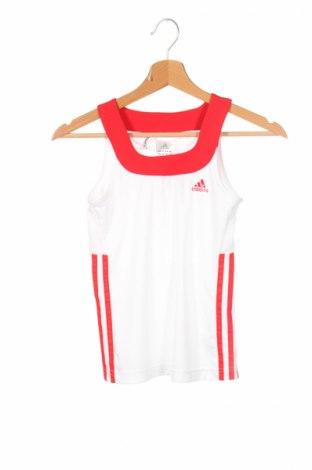 Детски потник Adidas, Размер 10-11y/ 146-152 см, Цвят Бял, Полиестер, Цена 27,20лв.