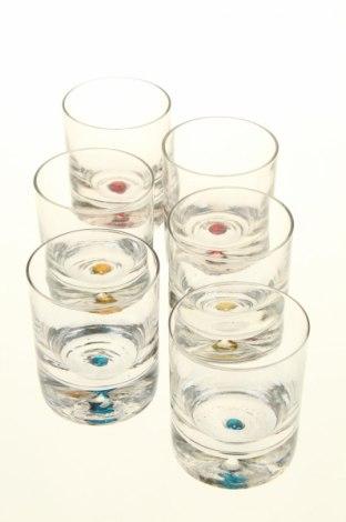 Комплект чаши Home design, Цвят Бял, Стъкло, Цена 27,75лв.