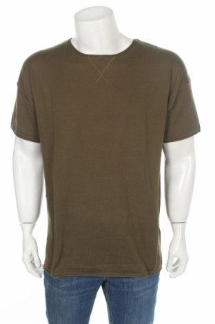 Ανδρική μπλούζα Mr. F, Μέγεθος L, Χρώμα Πράσινο, 65% πολυεστέρας, 35% βαμβάκι, Τιμή 3,16€