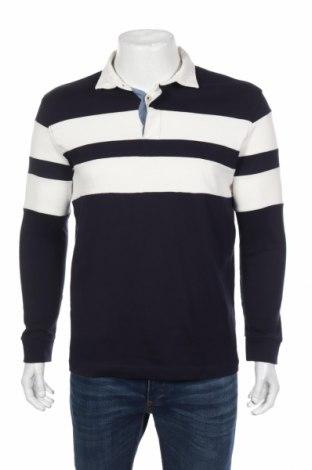 Pánske tričko  Springfield, Veľkosť L, Farba Modrá, Bavlna, Cena  13,30€
