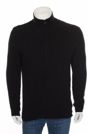 Мъжка жилетка ! Solid, Размер M, Цвят Черен, 100% памук, Цена 39,20лв.