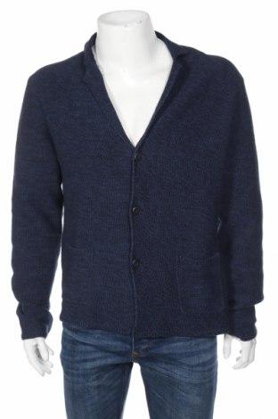 Jachetă tricotată de bărbați Mc Neal, Mărime XL, Culoare Albastru, Bumbac, Preț 110,08 Lei