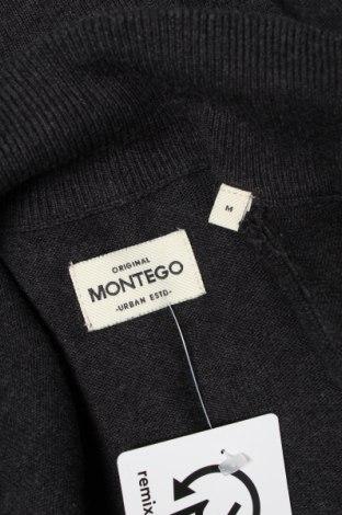 Мъжка жилетка Montego, Размер M, Цвят Сив, Памук, Цена 42,00лв.
