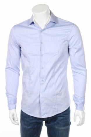 Мъжка риза Catalin Botezatu, Размер S, Цвят Син, Памук, Цена 14,40лв.