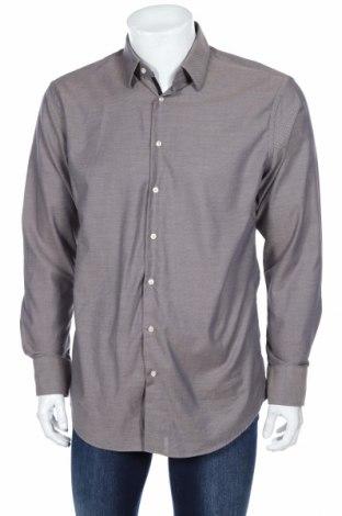 Мъжка риза Christian Berg, Размер L, Цвят Бежов, Памук, Цена 36,40лв.