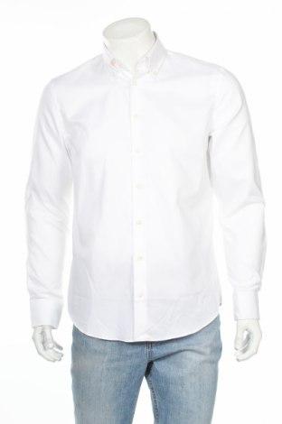 Мъжка риза Eterna, Размер XL, Цвят Бял, Памук, Цена 39,20лв.