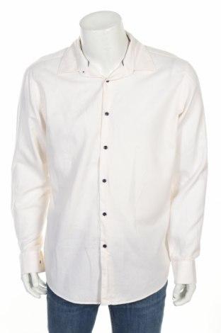 Pánská košile  Hugo Boss, Rozměr XL, Barva Krémová, 100% bavlna, Cena  661,00Kč