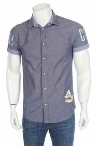 Мъжка риза Jack & Jones, Размер S, Цвят Син, Цена 9,98лв.