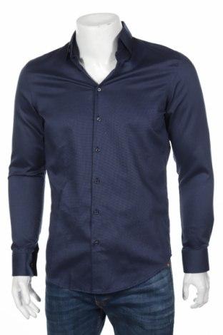 Мъжка риза Jake*s, Размер S, Цвят Син, Памук, Цена 30,80лв.