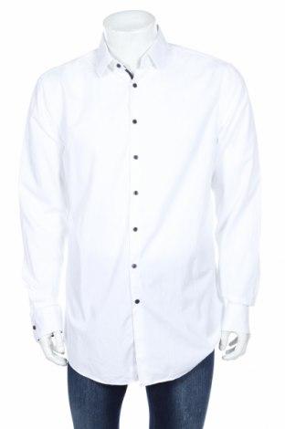 Pánska košeľa  Jake*s, Veľkosť XL, Farba Biela, Bavlna, Cena  15,54€