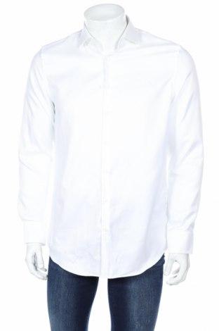 Pánská košile  Jake*s, Rozměr M, Barva Bílá, Bavlna, Cena  452,00Kč