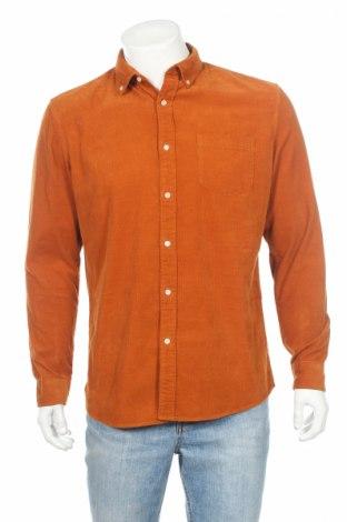 Мъжка риза Mc Neal, Размер L, Цвят Кафяв, Памук, Цена 47,60лв.