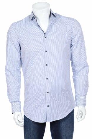 Мъжка риза Montego, Размер S, Цвят Син, 97% памук, 3% еластан, Цена 54,00лв.