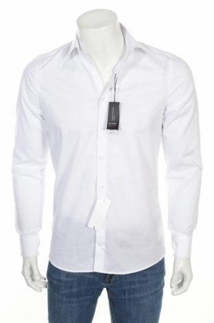 Мъжка риза Olymp, Размер S, Цвят Бял, 97% памук, 3% еластан, Цена 38,40лв.