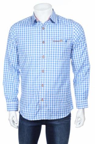Мъжка риза Stockerpoint, Размер S, Цвят Син, 55% памук, 45% полиестер, Цена 44,80лв.