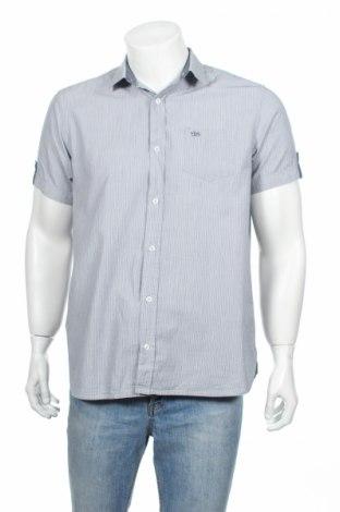 Мъжка риза Tbs, Размер M, Цвят Син, Памук, Цена 12,97лв.