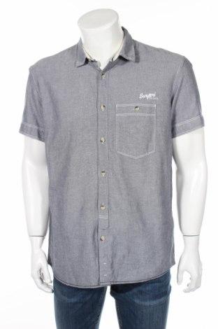 Мъжка риза Tom Tailor, Размер XL, Цвят Син, Памук, Цена 8,13лв.