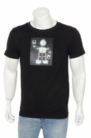 Мъжка тениска, Размер M, Цвят Черен, Памук, Цена 7,70лв.
