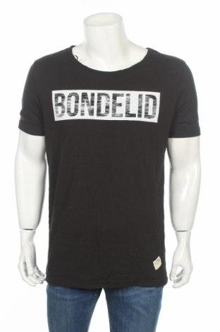 Tricou de bărbați Bondelid, Mărime XL, Culoare Negru, Bumbac, Preț 39,46 Lei