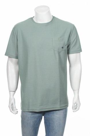 Мъжка тениска Gas, Размер XXL, Цвят Зелен, Полиамид, Цена 29,50лв.