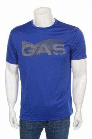 Мъжка тениска Gas, Размер XL, Цвят Син, 100% полиамид, Цена 28,00лв.