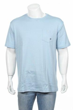 Мъжка тениска Gas, Размер XXL, Цвят Син, Памук, Цена 26,55лв.
