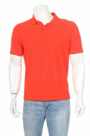 Мъжка тениска Golfino, Размер M, Цвят Оранжев, Полиамид, Цена 6,75лв.