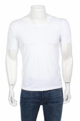 Pánske tričko  Hugo Boss, Veľkosť L, Farba Biela, 95% bavlna, 5% elastan, Cena  25,29€