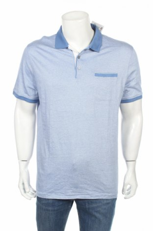 Мъжка тениска Lc Waikiki, Размер XL, Цвят Син, Памук, Цена 15,17лв.