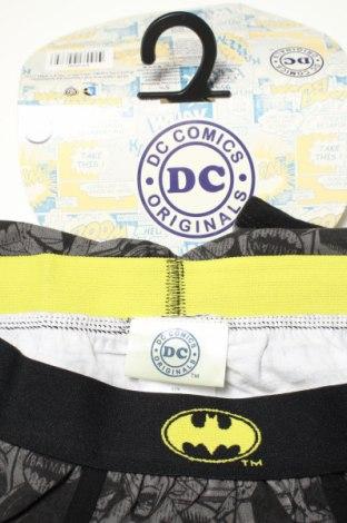 Мъжки боксерки Dc Comics, Размер S, Цвят Сив, 95% памук, 5% еластан, Цена 20,16лв.