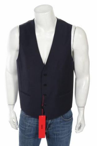 Мъжки елек Hugo Boss, Размер L, Цвят Син, Цена 57,12лв.