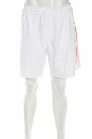 Мъжки къс панталон Adidas, Размер XL, Цвят Бял, Полиестер, Цена 17,33лв.