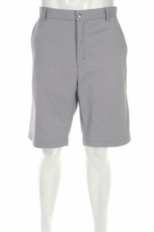 Pantaloni scurți de bărbați Calvin Klein, Mărime L, Culoare Gri, 96% poliester, 4% elastan, Preț 72,42 Lei