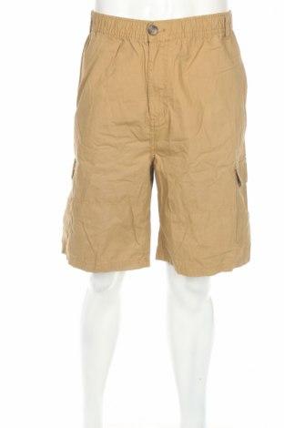 Pantaloni scurți de bărbați Emerson, Mărime XXL, Culoare Bej, Bumbac, Preț 74,60 Lei