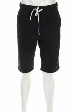 Pantaloni scurți de bărbați H&M, Mărime M, Culoare Negru, 60% bumbac, 40% poliester, Preț 49,61 Lei