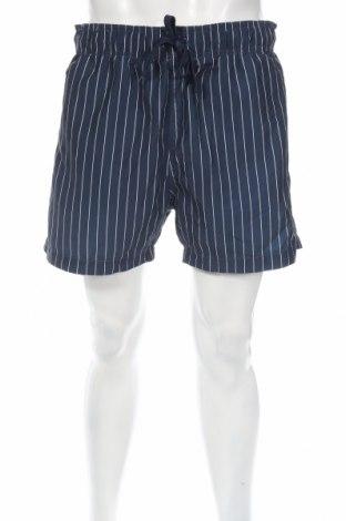 Pánske kraťasy  H&M, Veľkosť L, Farba Modrá, 100% polyester, Cena  3,86€