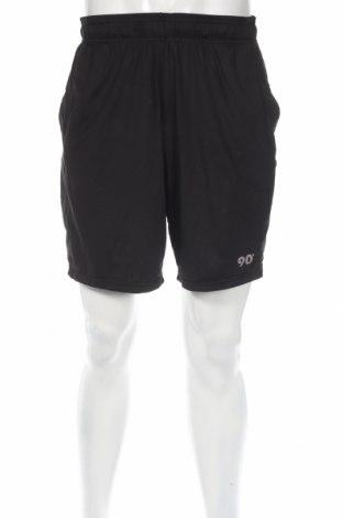 Мъжки къс панталон Reflex, Размер M, Цвят Черен, 94% полиестер, 6% еластан, Цена 12,71лв.