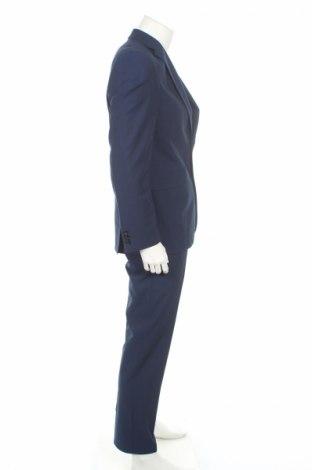Мъжки костюм Christian Berg, Размер M, Цвят Син, 75% полиестер, 23% вискоза, 2% еластан, Цена 108,36лв.