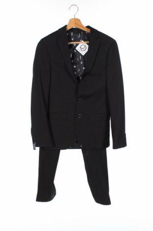 Costum de bărbați Mc Neal, Mărime XS, Culoare Negru, 76% poliester, 31% viscoză, 3% elastan, Preț 134,29 Lei