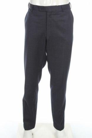 Pantaloni de bărbați Daniel Hechter, Mărime XXL, Culoare Albastru, Lână, Preț 223,82 Lei