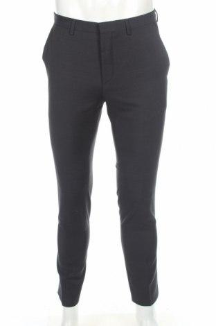 Pánské kalhoty  Hugo Boss, Rozměr M, Barva Černá, Vlna, Cena  1256,00Kč