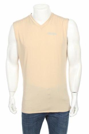 Ανδρική αμάνικη μπλούζα, Μέγεθος XL, Χρώμα  Μπέζ, 80% πολυαμίδη, 20% ελαστάνη, Τιμή 4,22€
