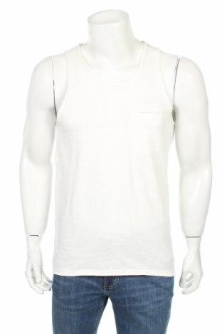 Ανδρική αμάνικη μπλούζα Produkt by Jack & Jones, Μέγεθος S, Χρώμα Λευκό, 100% βαμβάκι, Τιμή 4,49€