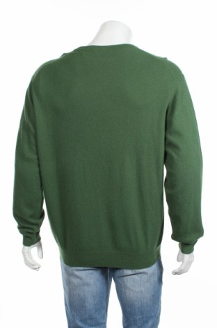 Мъжки пуловер Christian Berg, Размер XL, Цвят Зелен, 40% вискоза, 25% вълна, 25% полиамид, 5% кашмир, 5% ангора, Цена 40,80лв.