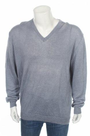 Мъжки пуловер Pierre Cardin, Размер XL, Цвят Син, Лен, Цена 53,72лв.