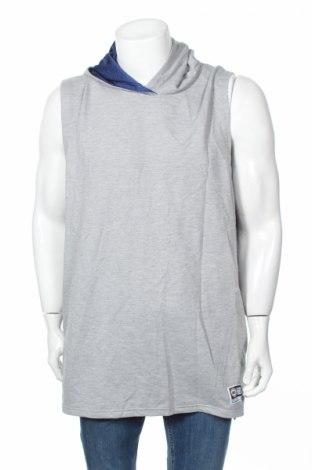 Мъжки суичър, Размер 3XL, Цвят Сив, 65% полиестер, 35% памук, Цена 18,48лв.