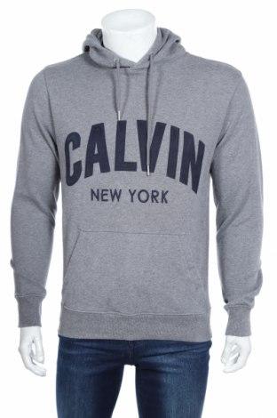 Pánská mikina  Calvin Klein Jeans, Rozměr S, Barva Šedá, 100% bavlna, Cena  1001,00Kč