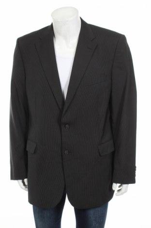 Мъжко сако Van Kollem, Размер XL, Цвят Сив, 67% полиестер, 30% вълна, 3% еластан, Цена 15,21лв.