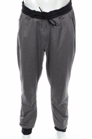 Pantaloni trening de bărbați Under Armour, Mărime XL, Culoare Gri, Poliester, Preț 155,37 Lei