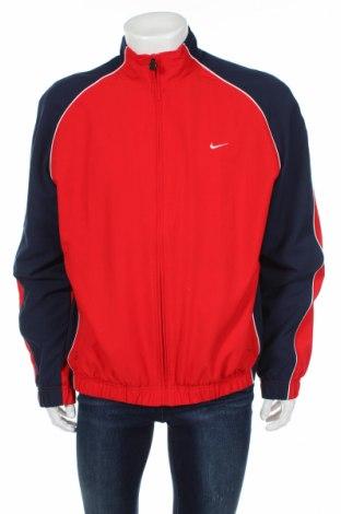 Мъжко спортно горнище Nike, Размер XL, Цвят Червен, Полиестер, Цена 23,94лв.